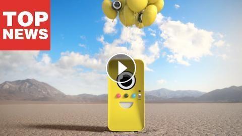 Snapbot: Snapchat-Macher lassen Roboter einfliegen: Das ist mal ein Popup-Store! Um die Snap Spectacles schneller unters Volk zu bringen,…