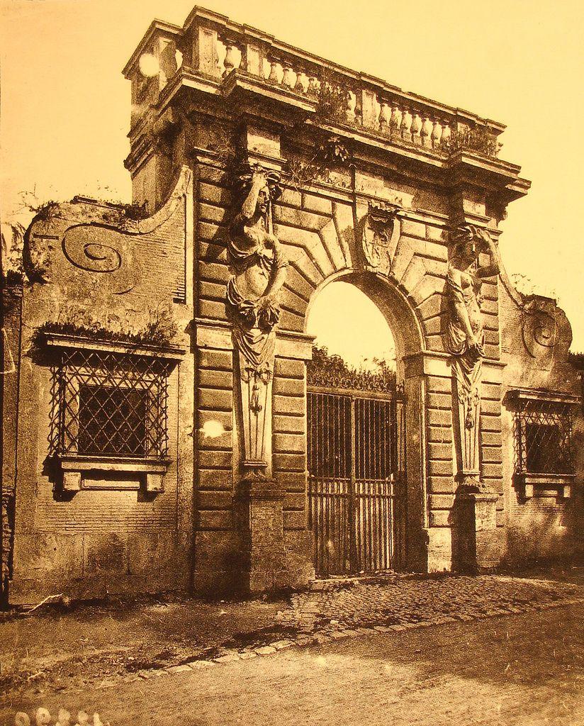 1880 2006 Portale Villa Massimo Architecture Rome