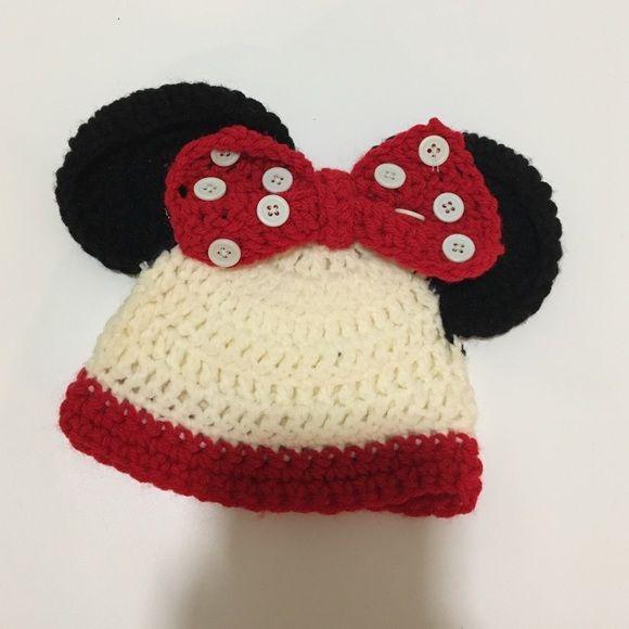 Minnie Mouse Beanie | Pinterest | Mütze und Babys