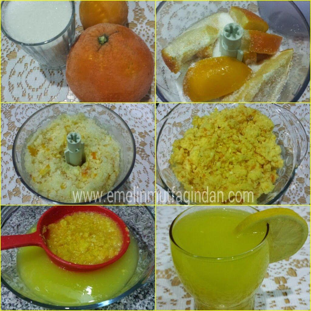 Ev Yapımı Doğal Limonata (1 limon ve 1 Portakaldan) | Emelin Mutfağından