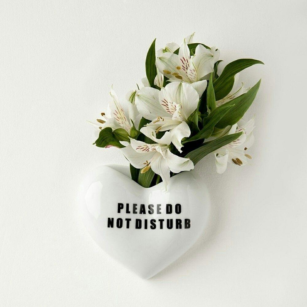 Vaso Coração de Porcelana da QuatroVezesWipfli