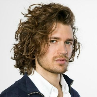 Hairstyle For Long Hair Men Permed Hairstyles Long Hair Styles Men Long Curly Hair Men