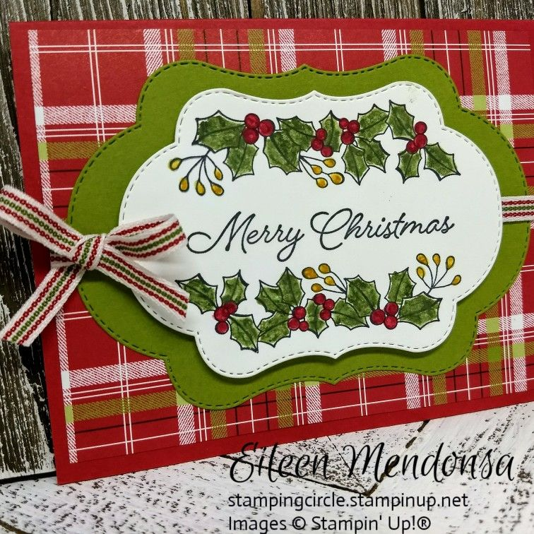 Stampin\' Up! Blended Seasons | Eily\'s Stamping Circle | Pinterest ...