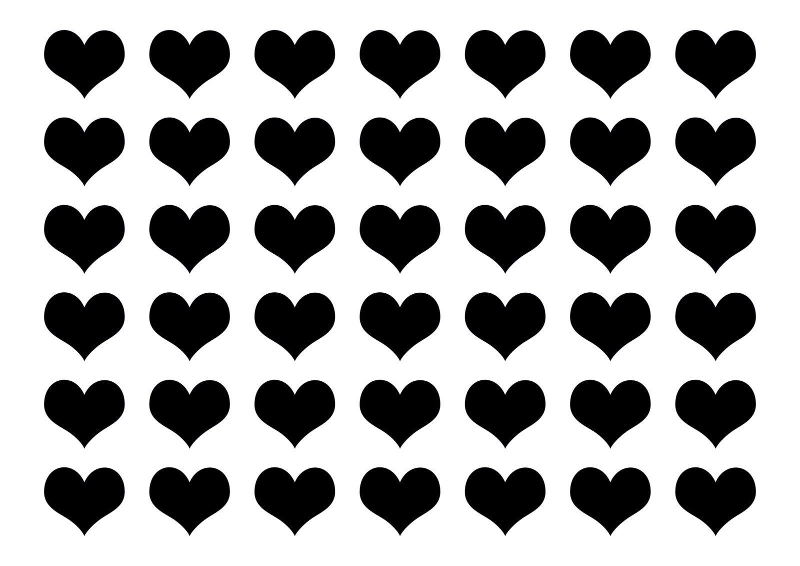Free Printable Heart Templates Small Olivia Adorf Heart