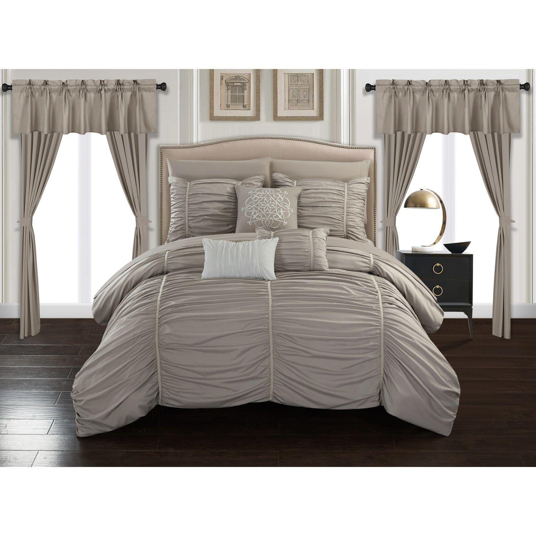 Chic Home 20 Piece Comforter Set Designer Bed In A Bag Bedding