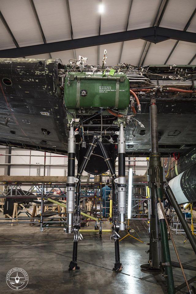 The restoration of Lancaster bomber KB882 can now begin