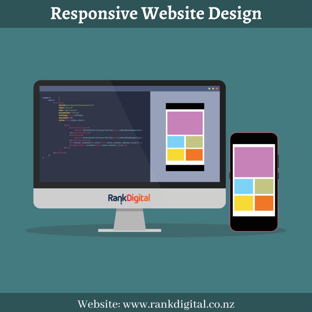 Responsive Website Design Company In Christchurch In 2020 Web Development Design Responsive Website Design Website Design Company