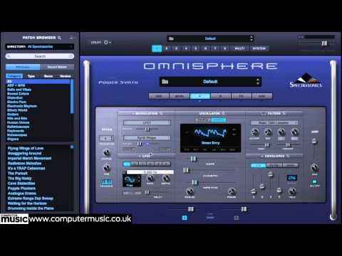 awesome Spectrasonics Omnisphere 2 synth VST/AU plugin in