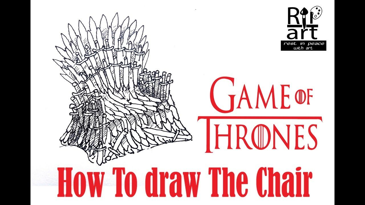 Behind the chair ecards - Game Of Thrones How To Draw The Chair