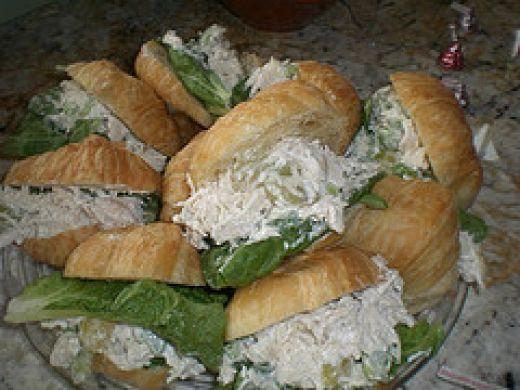 how to make salad sandwich