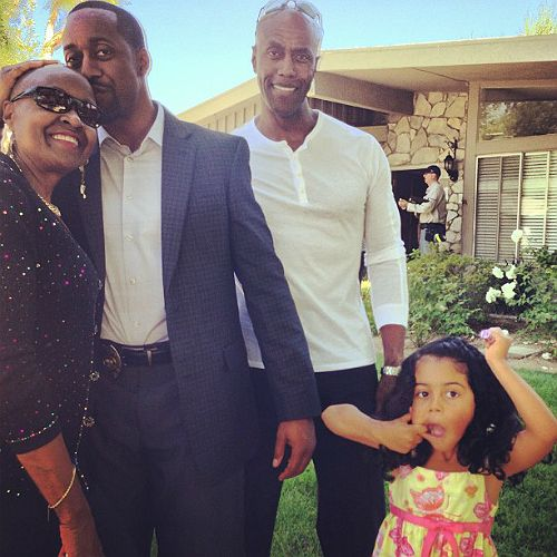 Jaleel White And Daughter Hang Out Black Celebrity Kids