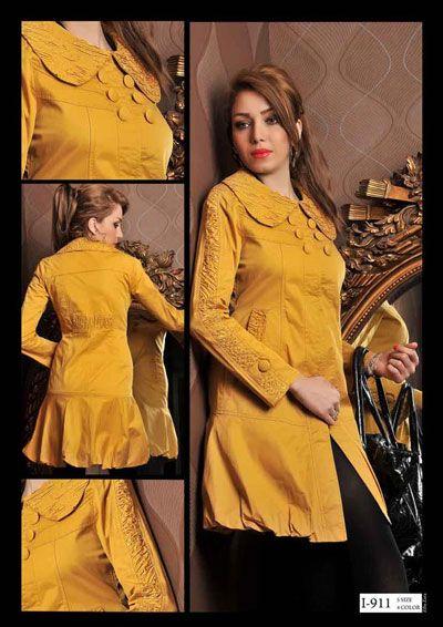 Manto Zara Brand Persian Street Style Fashion Model Dress