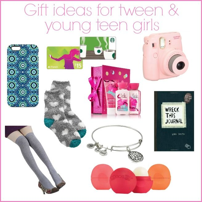 Birthday & Christmas gift ideas for tween and young teen girls - Gift Ideas For Tween & Teen Girls Great Gifts Pinterest