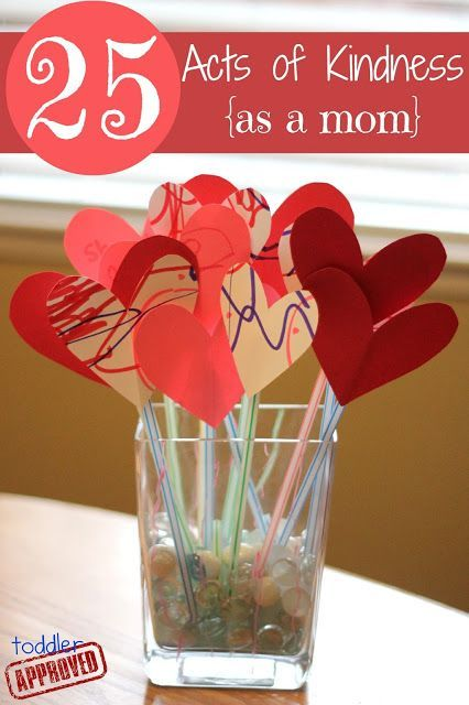 Acts of Kindness {as a mom} 25 Acts of Kindness as a mom to do for your kids - love this!25 Acts of Kindness as a mom to do for your kids - love this!