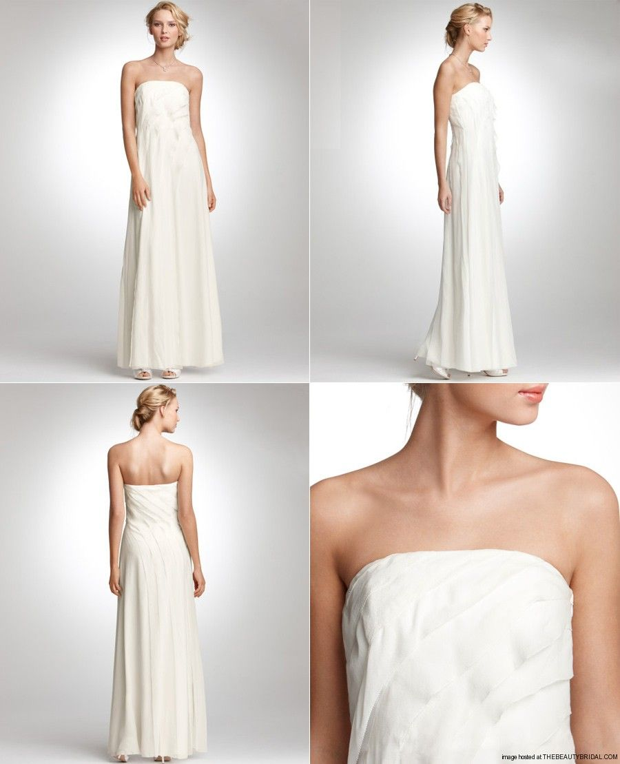 Ann Taylor 2012 Juliet Bridal Gown An Effortlessly Elegant Gown In Timeless Silk Featuring Flowy Tiers Of Sof Gowns Of Elegance Ann Taylor Wedding Bridal Gowns