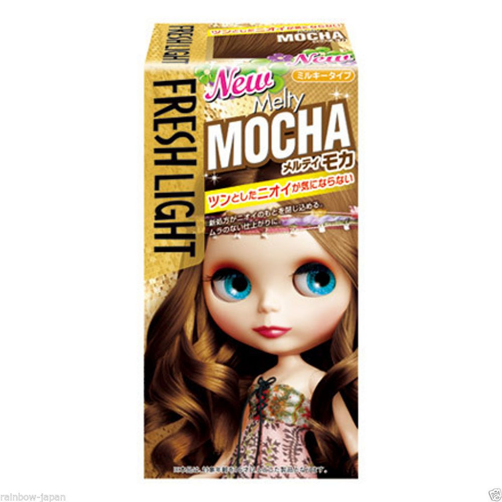 Fresh Light Milky Type Hair Color Melty Mocha Color Hair Dye Kit