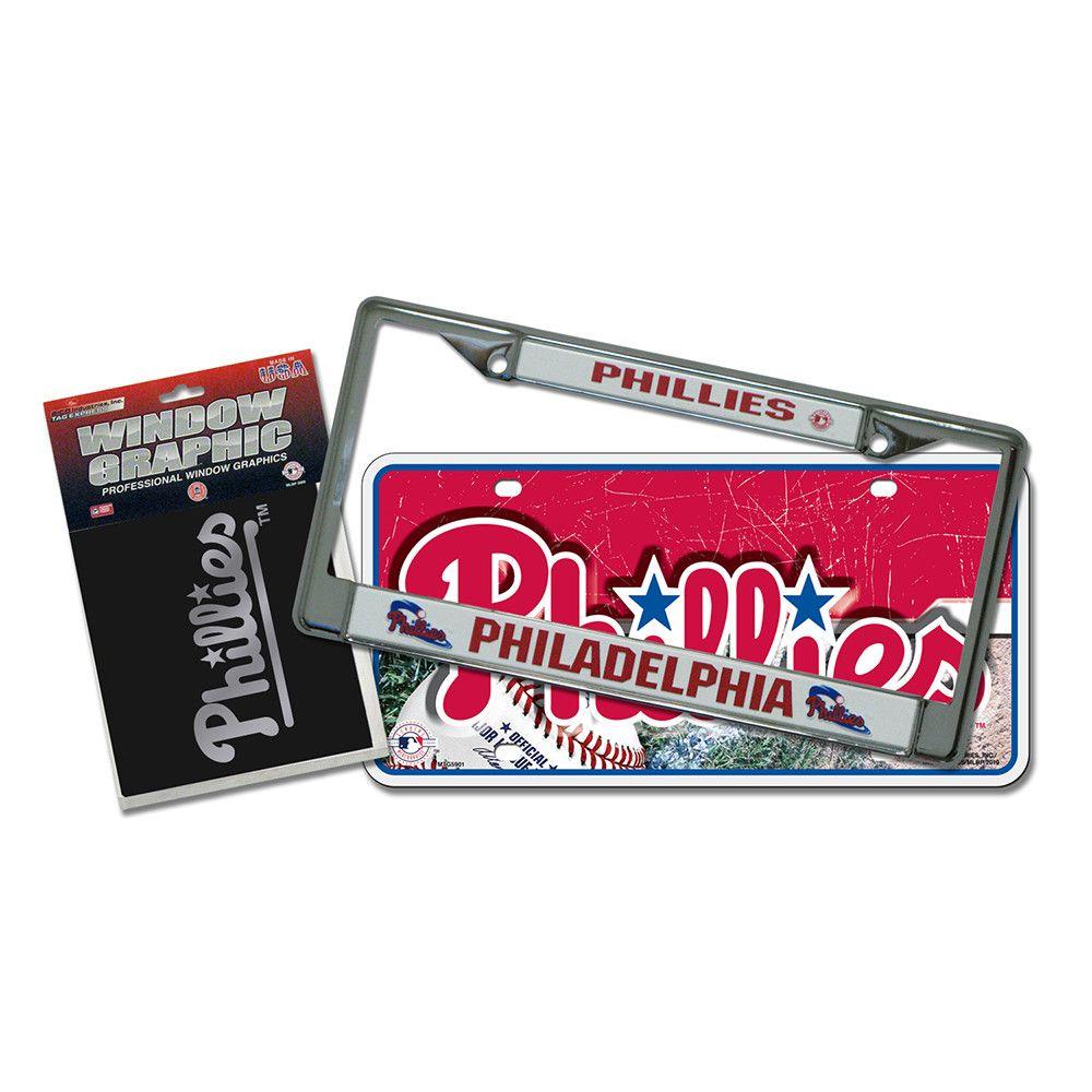 Philadelphia Phillies Mlb 3 Piece Auto Detail Pack