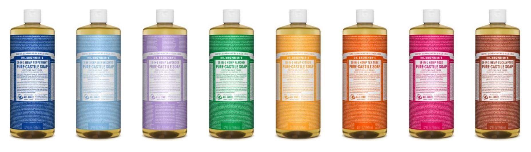 Dr  Bronner Pure-Castile Liquid Soap Review | Black Hair