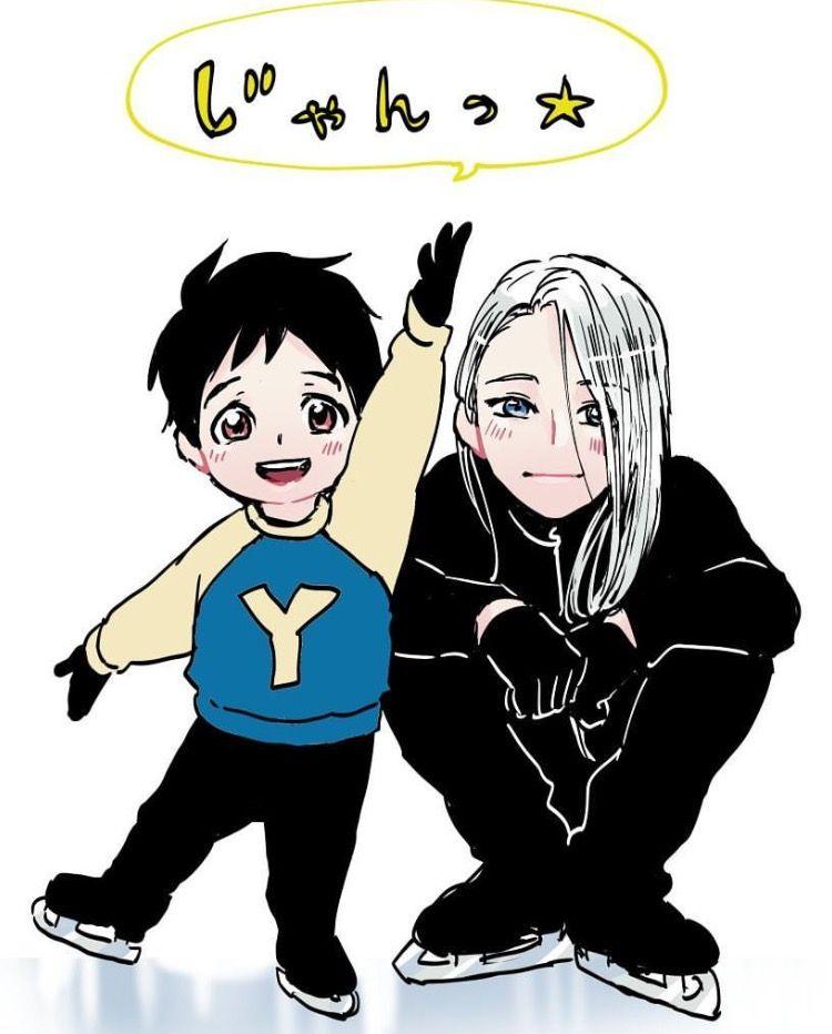 yuri!!! on ice | yoi | viktor nikiforov x katsuki yuuri | victuuri