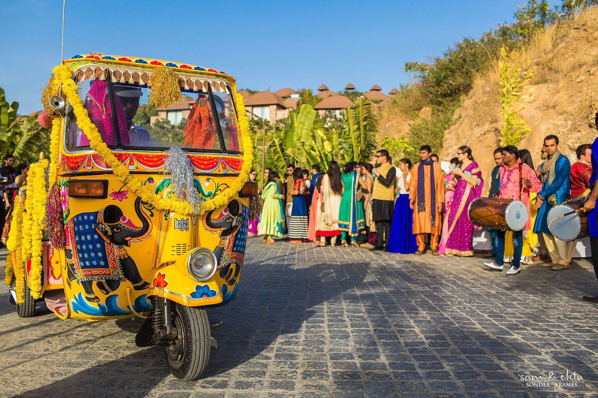 Wedding Tuk Decor Indian Blog Think Shaadi