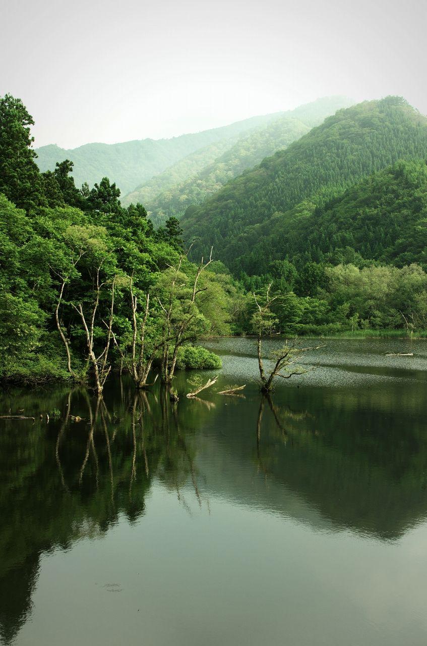 "zalameki: ""深き湖 """