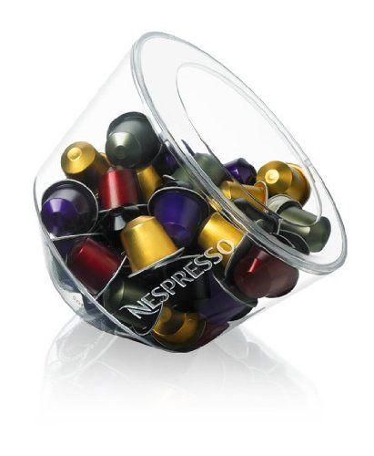 Glass Bonbonniere Nespresso Glass Bowl Storage For Capsules    Http://nespressoshop.net