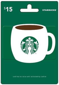 Huggies Rewards 15 Starbucks Gift Cards 750 Points Starbucks Gift Card Starbucks Card Starbucks Gift