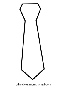 Coloring Contest: Decorate a Tie for Father's Day