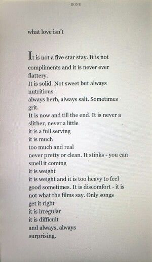 What Love Isn't//Yrsa Daley-Ward   Words of wisdom, What ...
