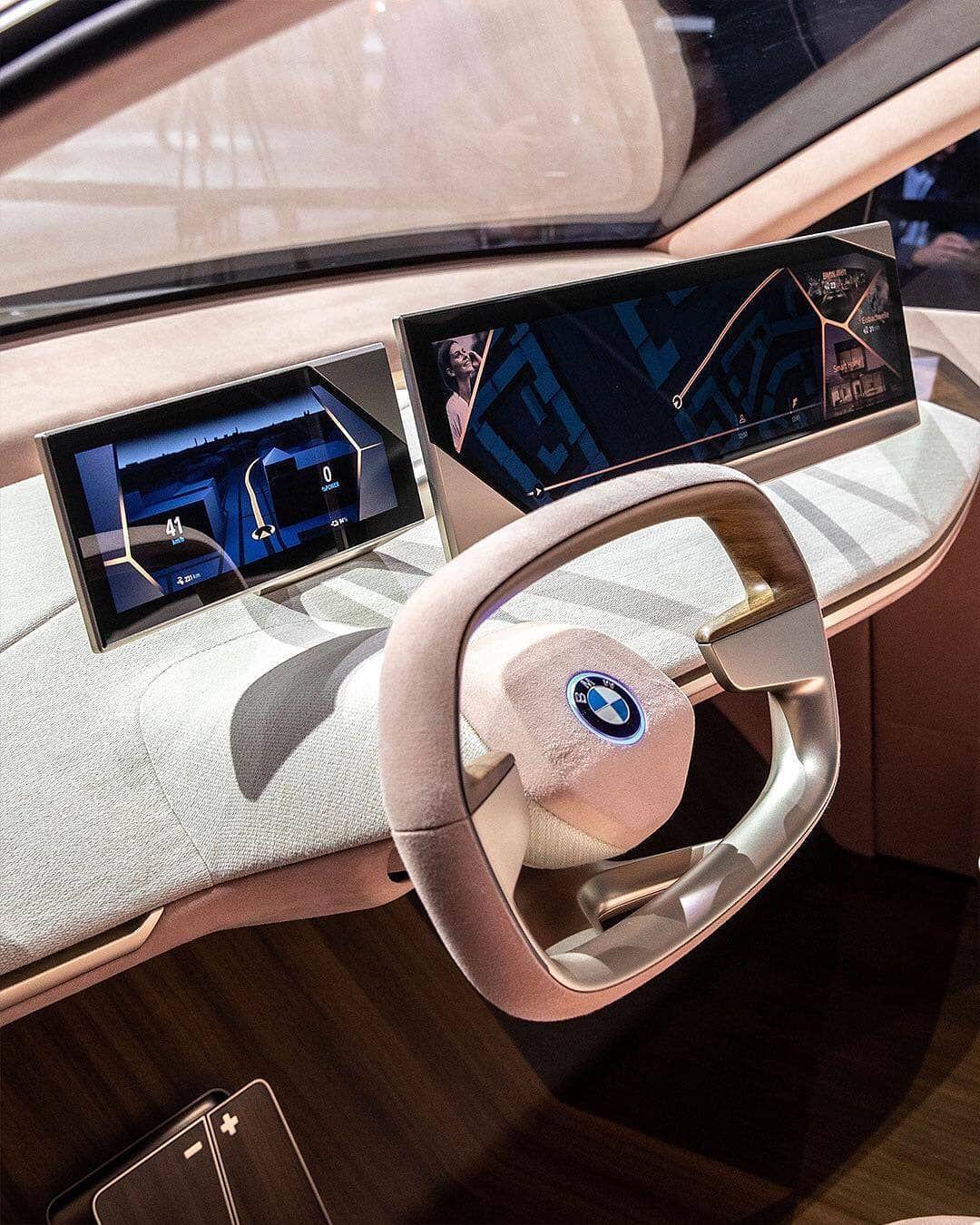 "Car Interior On Instagram: ""#Bmw Vision #iNext _ ©@bmw.uae"