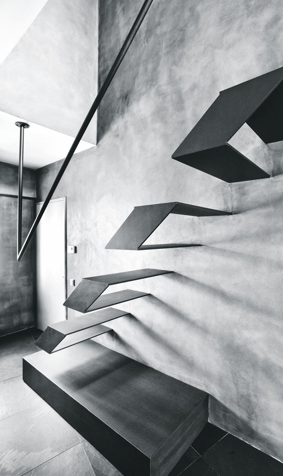 Blickfang Schwebende Treppe Foto Von Treppen
