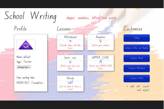 school writing app
