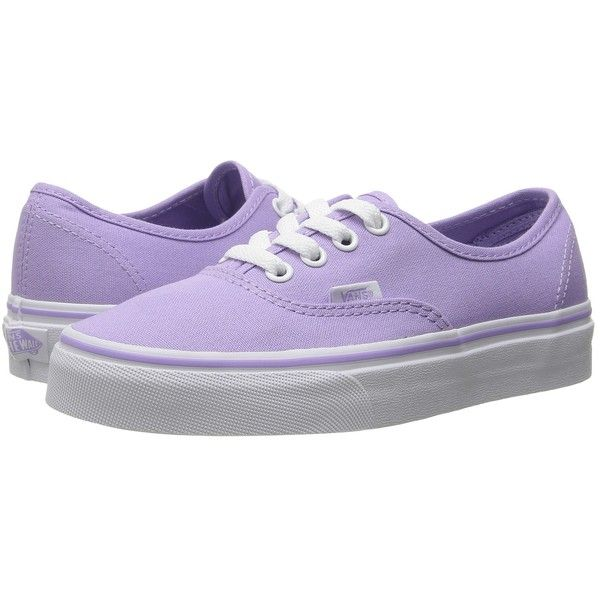 09ab1f0403a Shoes sneakers · Vans Authentic (Lavender True White) Skate Shoes ( 50) ❤  liked on
