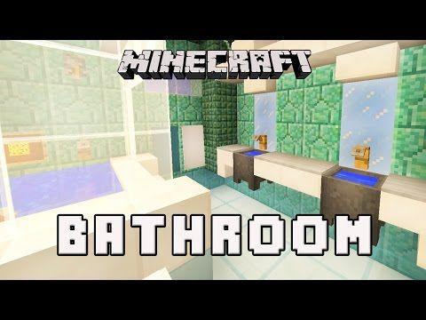 Bathroom Designs Minecraft http://minecraftstream/minecraft-tutorials/minecraft-tutorial