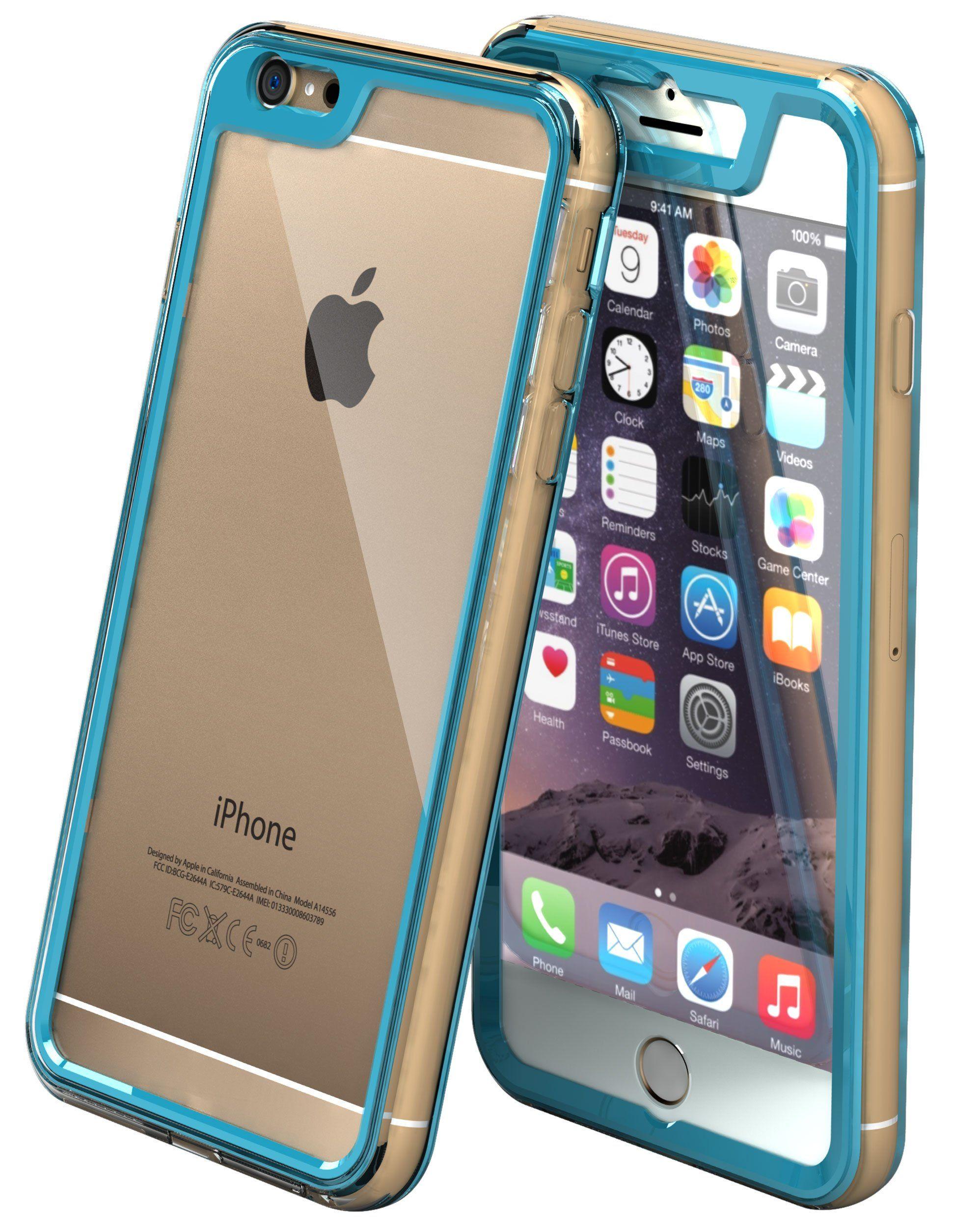 hot sales 9b2e2 cf2c6 roocase iPhone 6 Plus Case, Gelledge Premium Hybrid PC / TPU ...