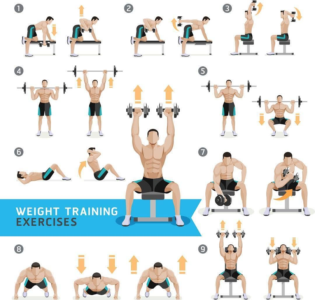 Dm For Online Program For Your Workout And Customized Diet Personaltraining Fitness Dm For Online Program Dumbbell Workout Dumbell Workout Weight Training