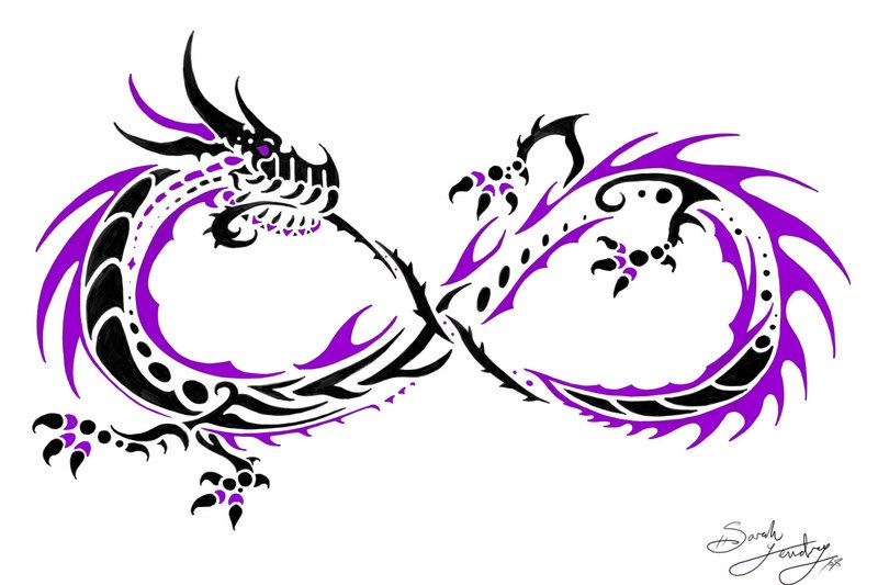 Double Infinity Tattoo Infinity Tattoo Designs Double Infinity Tattoos Celtic Dragon Tattoos