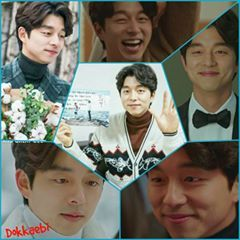 Gong Yoo as Goblin / Kim Shin in the awesome k-drama Goblin