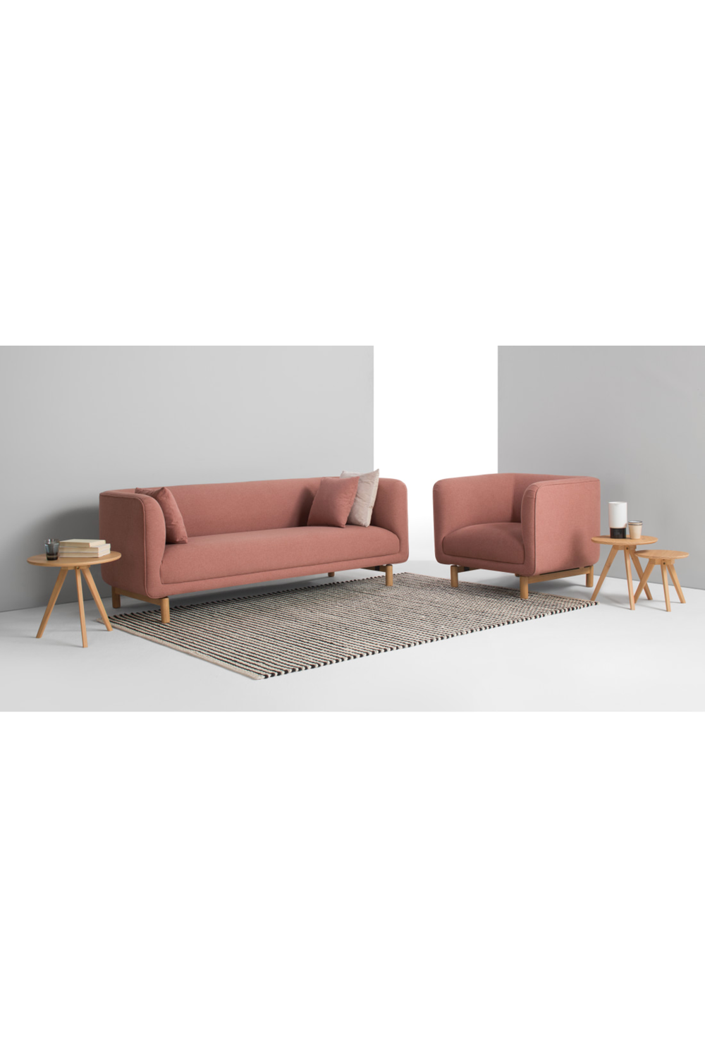 Becca 3 Sitzer Sofa Altrosa Beautiful Living Rooms Pink Sofa Decorating Your Home