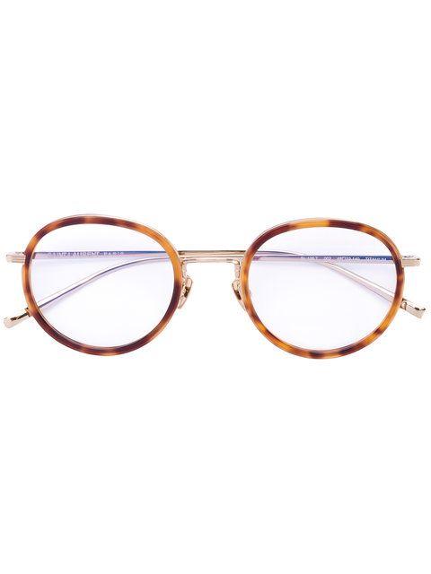 601ef7f9092c3c Achetez Saint Laurent Eyewear lunettes de vue à monture ronde ...