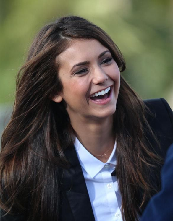 She's Just So Happy! Have You Ever Seen TVD's Nina Dobrev Looking Sad? - Celebrity Gossip, News & Photos, Movie Reviews, Competitions - Entertainmentwise