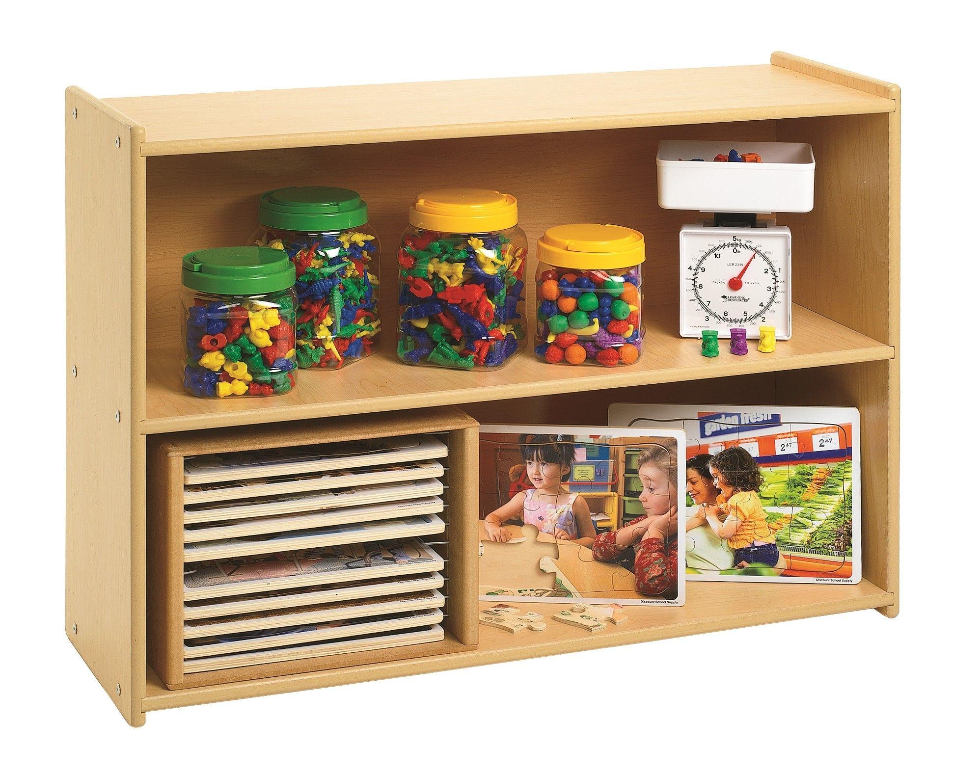Value Line 3 Compartments Shelving Unit Wooden Storage Storage Shelves Storage Cabinet Shelves
