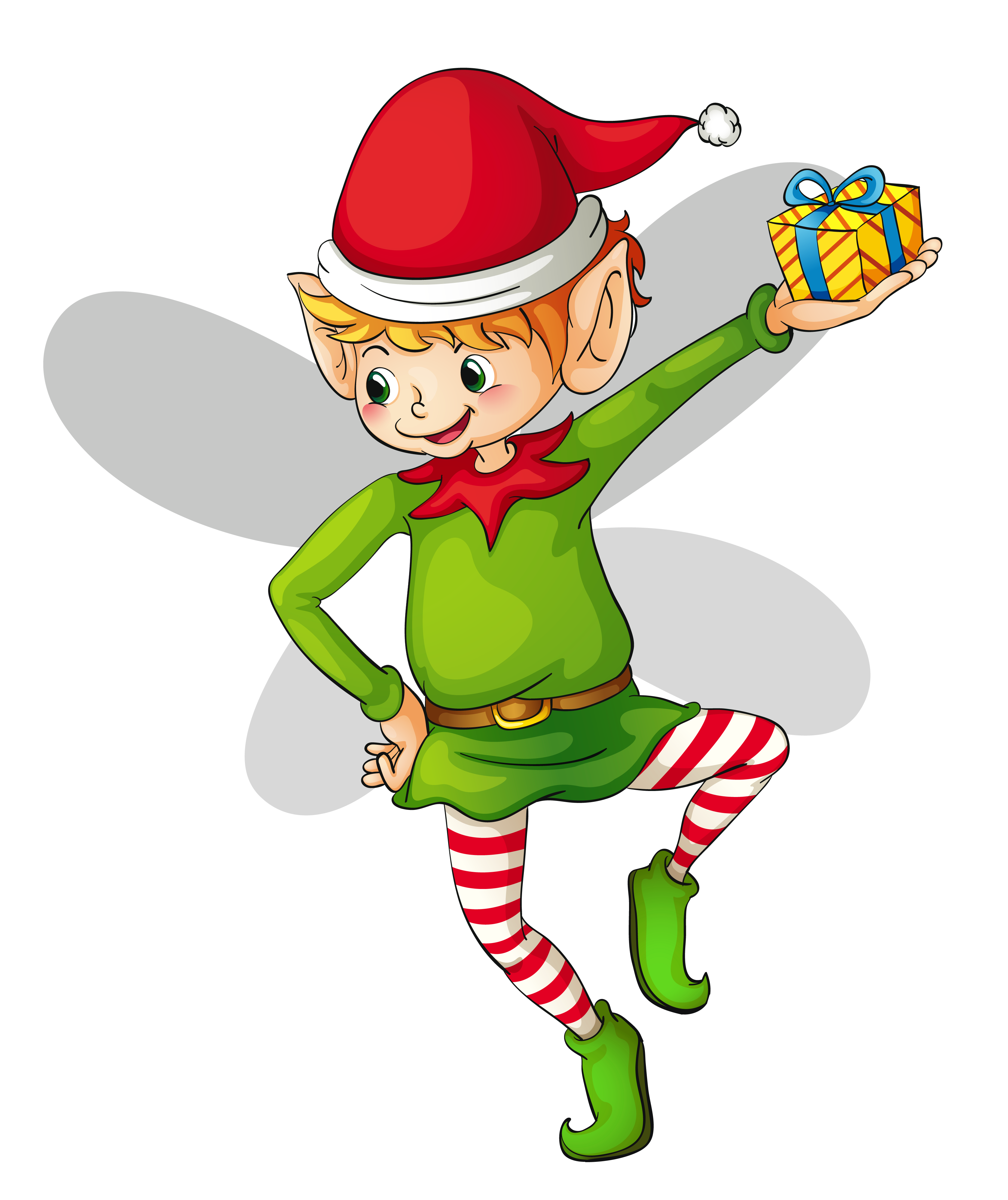 Free christmas elf clipart 3 Elf