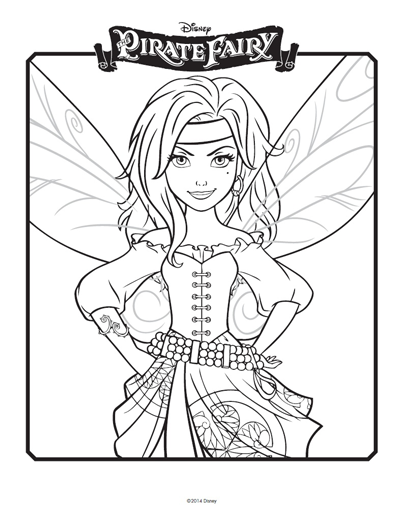 Tinkerbell coloring pages: Celebrate Tinkerbell film with pictures ...