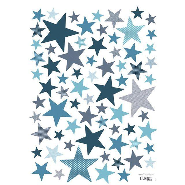 Stickers Chambe Enfant Etoiles Lilipinso La Redoute Mobile