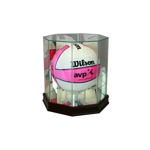 Octagon Volleyball Display Case With Sport Moulding Display Case Display Octagon