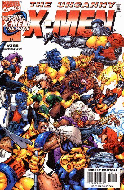 Uncanny X Men 385 By Salvador Larroca Art Thibert X Men Marvel Comics Covers Comics