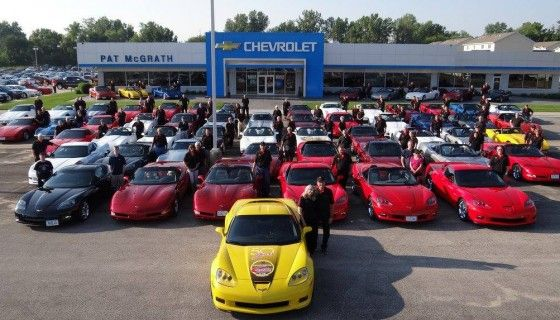 Pat Mcgrath Cedar Rapids >> Cedar Rapids Corvette Club Meets At Pat Mcgrath Chevyland