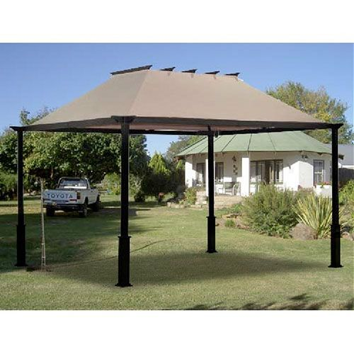 Target 2011 Outdoor Patio 10x12 Pergola Gazebo Replacement Canopy Garden Winds In 2020 Patio Gazebo Patio Garden Patio Furniture