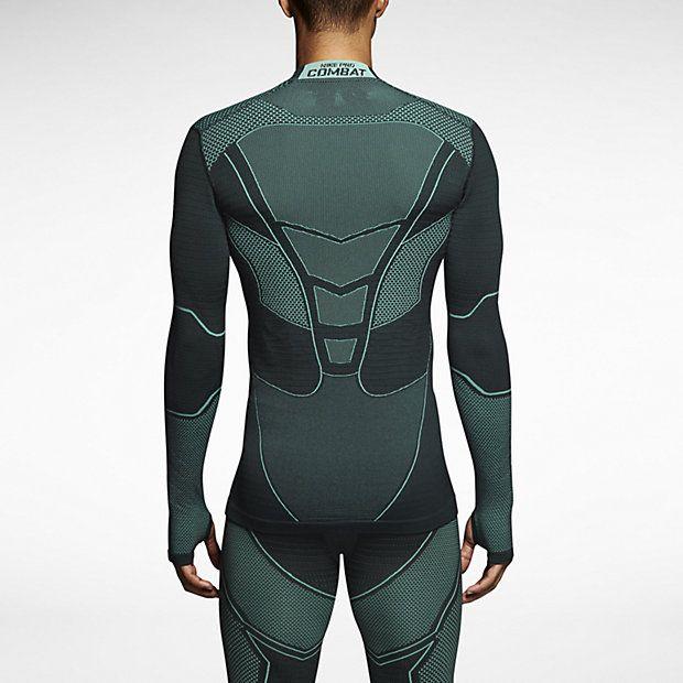 Nike Pro Combat Hyperwarm Flex Herrenshirt  26faa38b980